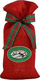 Fiddyment Farms 2 Lbs Lightly Salted Pistachios in Red Burlap Bag