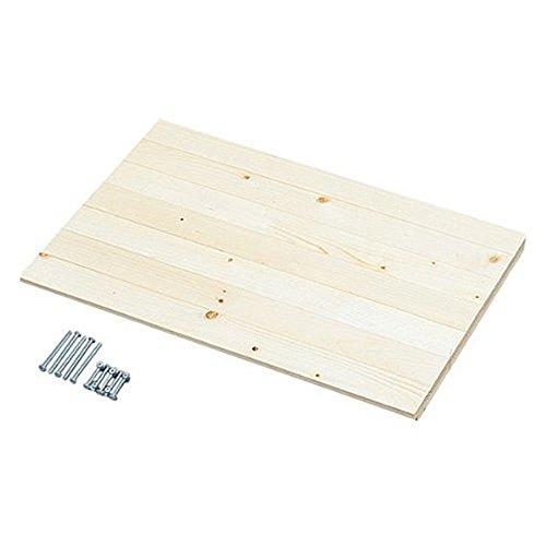 アイリスオーヤマ ラック 木製 別売棚板 幅55×奥行35cm ウッディラック クリア WOR-55T