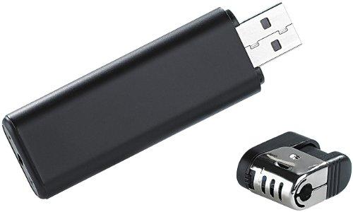 OctaCam Akku-Videokamera MC-720 in Feuerzeug-Optik, microSD