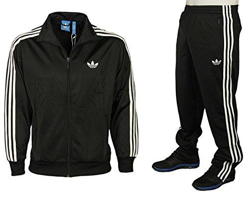 adidas Herren Jacke Originals Trainingsjacke Firebird, Black, L, S23129