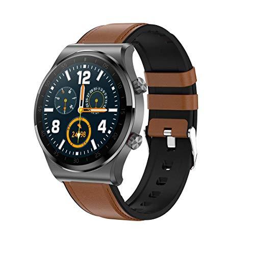 Reloj Inteligente, rastreador de Fitness para teléfonos Android, rastreador de Fitness con Monitor de Ritmo cardíaco y sueño, rastreador de Actividad con podómetro Impermeable IP67