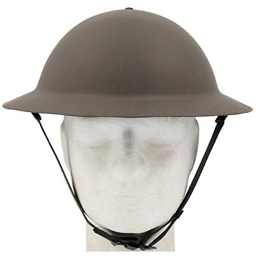 MFH Britischer Tellerhelm Tommy WW II Oliv Helm Stahlhelm Brodie Helm Army Armee BW