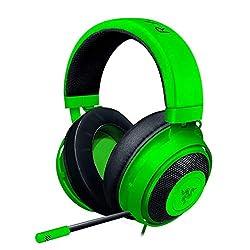 top 10 razer gaming headset Razer Kraken Gaming Headset: Lightweight Aluminum Frame, Retractable Noise Blocking Microphone,…