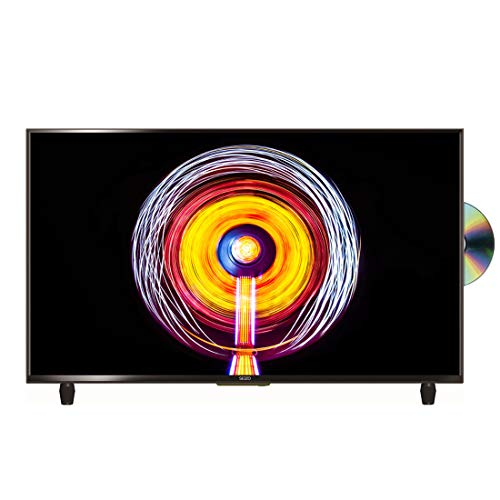 SEIZO 32 inch HD Ready LED TV DVD Combi with Freeview - Black (2019 model) [Energy Class A]