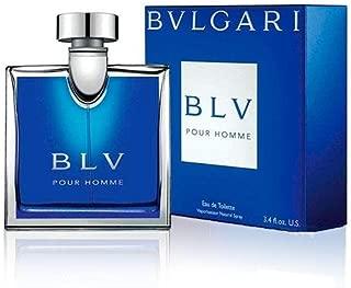 Bvl gari BLV Pour Homme EAU DE TOILETTE Spray for Men 3.4 FL. OZ./100 ml.
