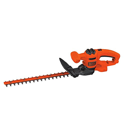 BLACK+DECKER Electric Hedge Trimmer, 17-Inch (BEHT150)
