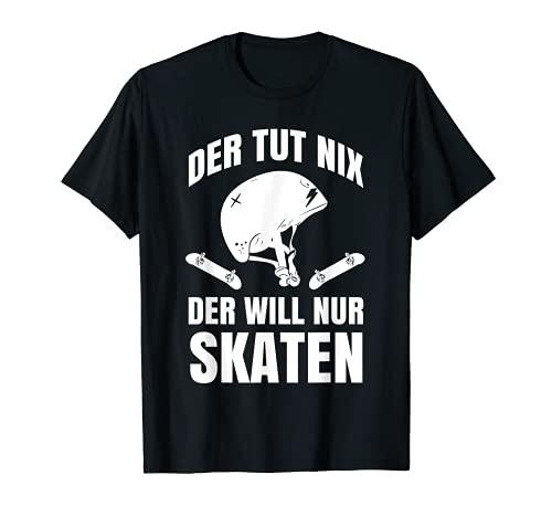 Skater Skateboard Skateboardfahrer Geschenk T-Shirt