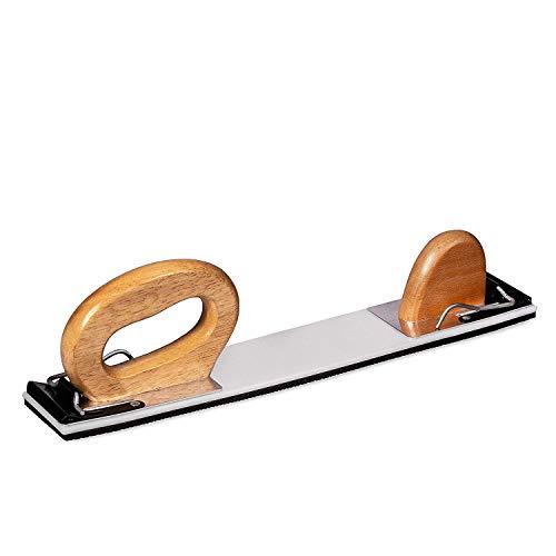 BenBow Handschleiffeile Schleifhobel handhobel flexibel hobel - D 70mm x 400mm (502)