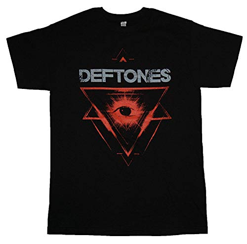 RWYZTX® Deftones - Triangle Eye - Men's T-Shirt Black