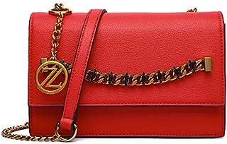 Zeneve London Crossbody Bag For Women, Red, 119908100047