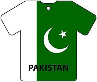 Personalized Pakistan Flag Jersey Car Air Freshener (Xmas Christmas Stocking Filler/Secret Santa Gift)
