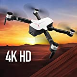 WHWYY 5G WiFi FPV GPS Drone 4K HD Camera Live Video Drones Brushless Motor Quadcopter 25mins Long Flight Time Drone Follow Me Long Control Range for Adults