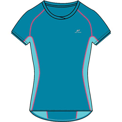 Pro Touch T- Shirt Gaisa Femme, Blue Aqua/Turquoise, FR : M (Taille Fabricant : 40)