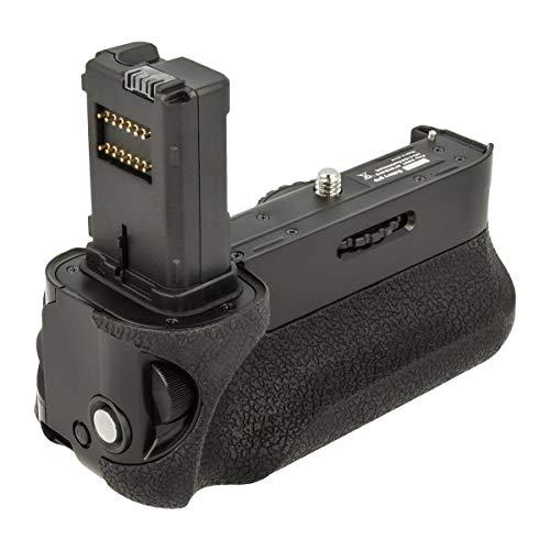 Akku-King Batteriegriff kompatibel mit Sony a7, a7R, a7S - inkl. Bedienelementen am Griff - ersetzt VG-C1EM