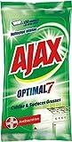 Ajax Optimal 7 Lingettes antibacteriennes Nettoyantes multi-usage (Paquet de 50 Pièces)