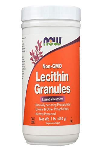 Lecithin Granules NON-GMO Now Foods 1 lbs Granule