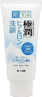 肌ラボ 極潤 ヒアルロン洗顔フォーム スーパーヒアルロン酸&吸着型ヒアルロン酸をW配合 100g