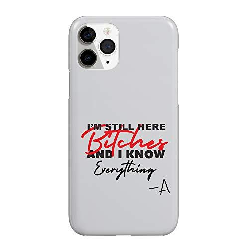 Pretty Little A Liars Fan Quote I Know Everything_WZ7384 Phone Case Hard Plastic Schutzhülle aus Hartplastik Handy Hülle Weihnachten Geburtstag Geschenk - Samsung Galaxy S7