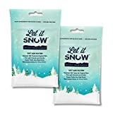 Let it Snow Kit Slime para Nieve Artificial – Nieve Falsa Premium para Bolas de Slime y Decoración Navideña – Fabricado en EEUU
