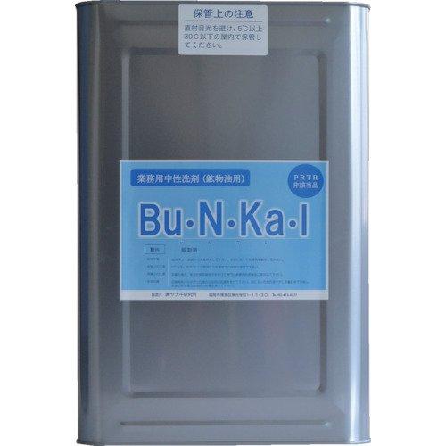 ヤナギ研究所 鉱物油用中性洗剤 Bu・N・Ka・I 18L缶 BU10K