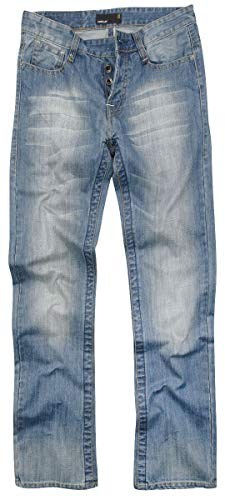 Forplay Salomon Männer Jeans blau W34L34 100% Baumwolle Undefiniert Casual Wear