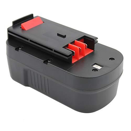 KINSUN Sostituzione Power Tool Batteria 18V Ni-MH 3000mAh Per Black & Decker Cordless Drill Impact Driver 244760-00, A1718, A18, HPB18, HPB18-OPE, Firestorm FS180BX, FS18BX, FS18FL, FSB18
