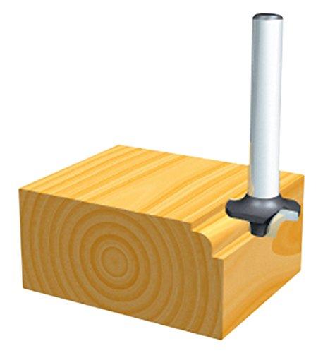 MAKITA D-09422 D-09422-Fresa para madera moldurado con rodamiento pinza (c) 6 mm (a) 15 mm (b) 7 mm (r) 3 mm