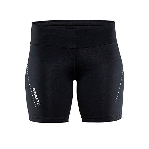 Craft Damen Essential Short Tights W Laufshorts, Black, XS