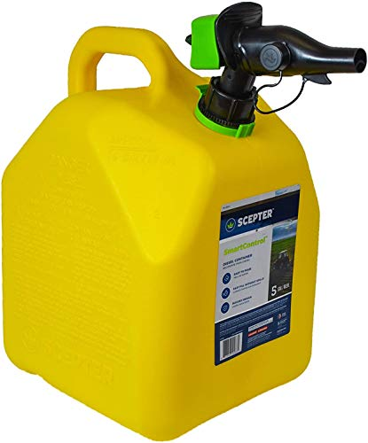 Scepter Jerry CAN Diesel 5G FMD Type, Yellow