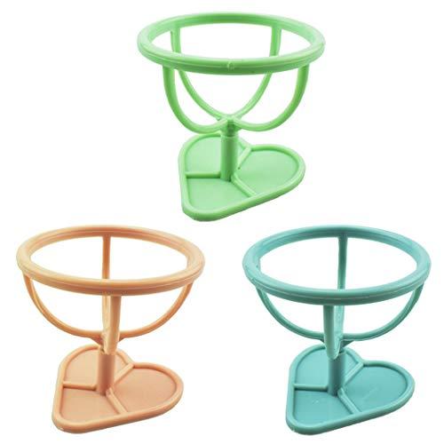 ZOYLINK Hamster Toy Chair Mini 3pcs Plastic Interactive Habitat Lustiger Hamsterhocker Zum Füttern