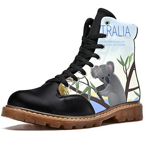 LORVIES Koala Australian - Botas de invierno para hombre, (multicolor), 46 EU
