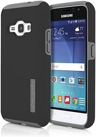 Incipio Cell Phone Case for Samsung Galaxy J1 Black Gray product image