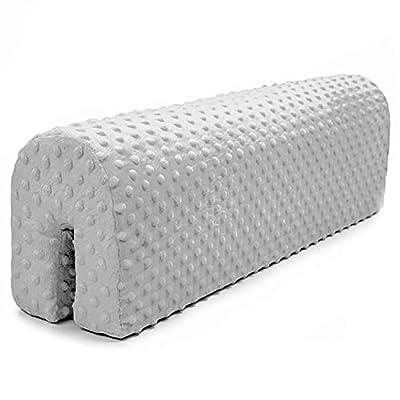 CREA UN LUGAR TRANQUILO PARA DORMIR: el acogedor armazón de cama integral protege a tu hijo de los golpes en el armazón de la cama dura. La protección de la cama también se utiliza para aumentar la comodidad del uso de la cama, ya que puede proporcio...