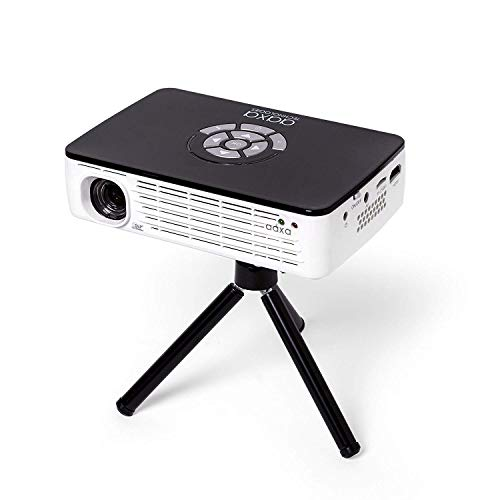 AAXA Technologies P300 Pico Projector with Rechargeable Battery - Native HD resolution with 500 LED Lumens, For Business, Home Theater, Travel and more (KP-600-01) Photo #6