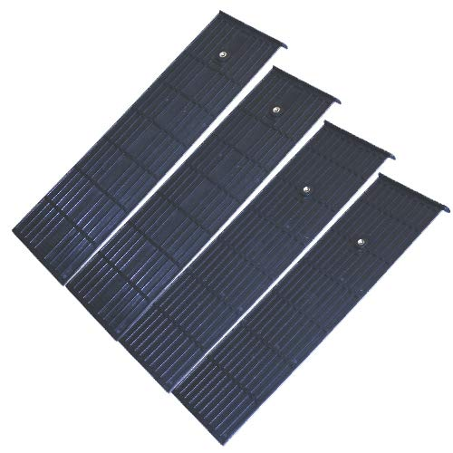 LESCHA ATIKA Ersatzteil | 4x Gleitplatte Set für Holzspalter ASP 10 N/ASP 11 N/ASP 14 TS/SPL 10 / SPL 11