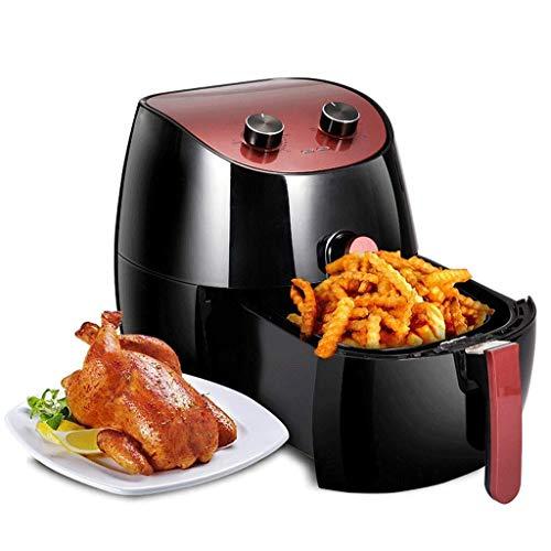 YYhkeby Air Fryer Electric Hot Extra Capacity1300W 3.5 litros Aire Caliente Horno Nutri Fryer Horno Bajo Frasco Reducido Aceite Rápido Cocina Saludable - Negro Jialele