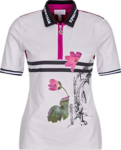 Sportalm Damen Poloshirt Größe 40 EU Weiß (weiß)