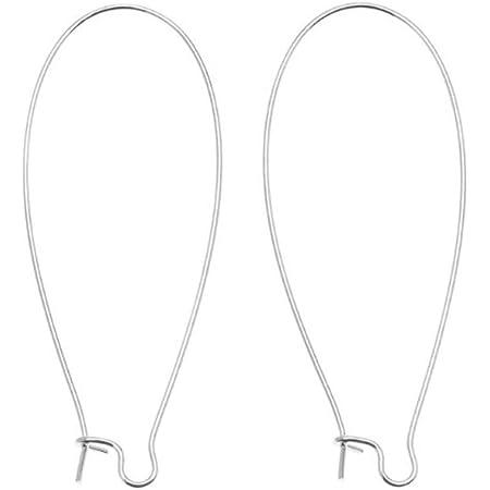 SALE 4pc 925 Sterling Silver Ear Wire Jewerley Supply Earring Hook High Quality Kidney Earrings b2503