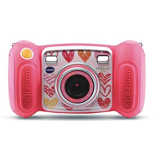 VTech Kidizoom Smile - Cámara de Fotos para niños, a Partir de 3 años, versión FR