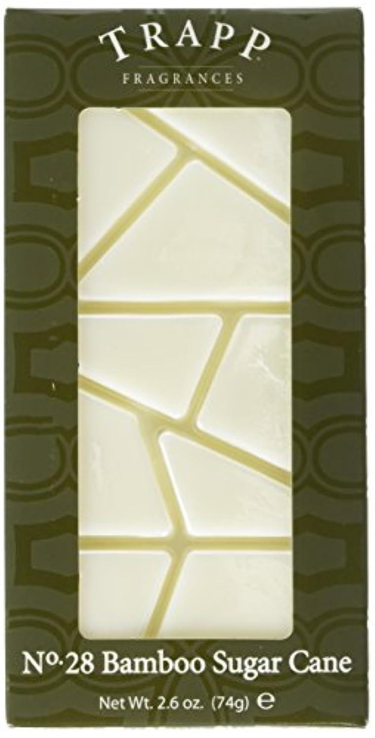Trapp Candles Home Fragrance Melt, No. 28 Bamboo Sugar Cane, 2.6-Ounce