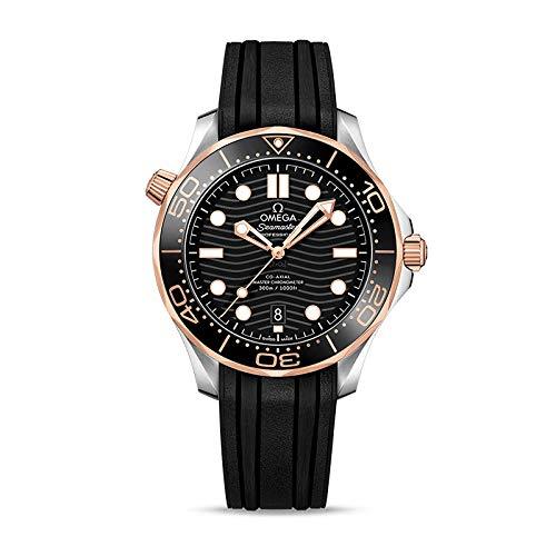 Omega Seamaster orologio automatico da uomo con quadrante nero...