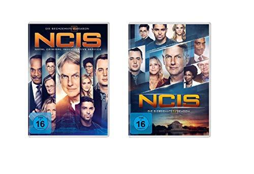 Navy CIS / NCIS Staffel 16+17 im Set - Deutsche Originalware [11 DVDs]