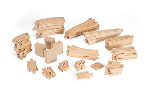BRIO World Railway Track - 50pc Set