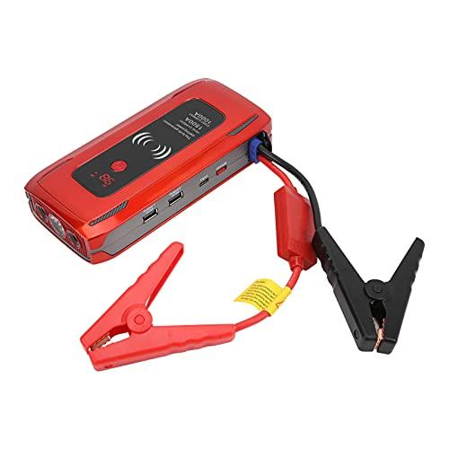 Crisist Arrancador para automóvil, Fuente de alimentación portátil USB Dual Universal de 26000 mAh para Aventuras para Descubrir y Conducir a Larga Distancia