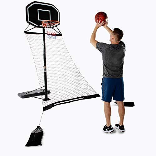 Activise Sport Basketball Return Net- Basketball Rebounder Attachment, Basketball Return, Dribble up Smart Basketball, Basketball Returner for Hoop, Basketball Training