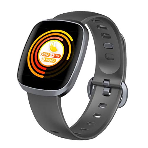 Intelligente horloge-armband Hartslagsensor Bloeddruk Pols en stappenteller Wekker 1.3inch Touch Sreen