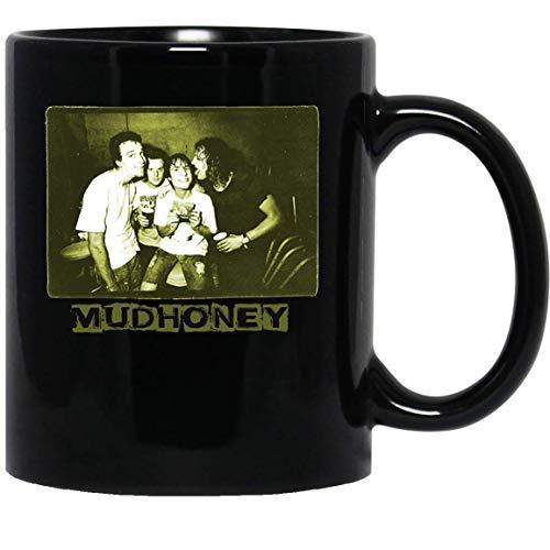 N\A Mudhoney Seattle Green River Grunge Mark Arm Sub Pop Mug Taza Tazas de café Tazas de té (11 oz)