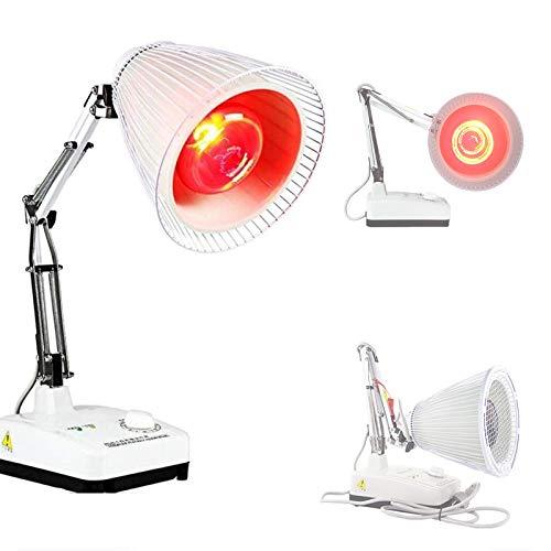 WDSZXH Infrarot Licht Heizungs Therapie Lampen, Wärme Physiotherapie Lampe Heizung Therapie Licht, Schmerzlinderung Gesundheitswesen Infrarot Wärmepflege Lampe
