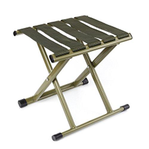 Chaises pliantes Jardin et Patio Tabouret de pêche Pliant Tabouret Reste Chaise en Plein air Chaise de pêche épais Tabouret ménage Chaise de Camping Portable