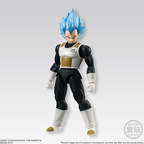 Dragon Ball Z Shodo SSGSS Vegeta Action figure standard